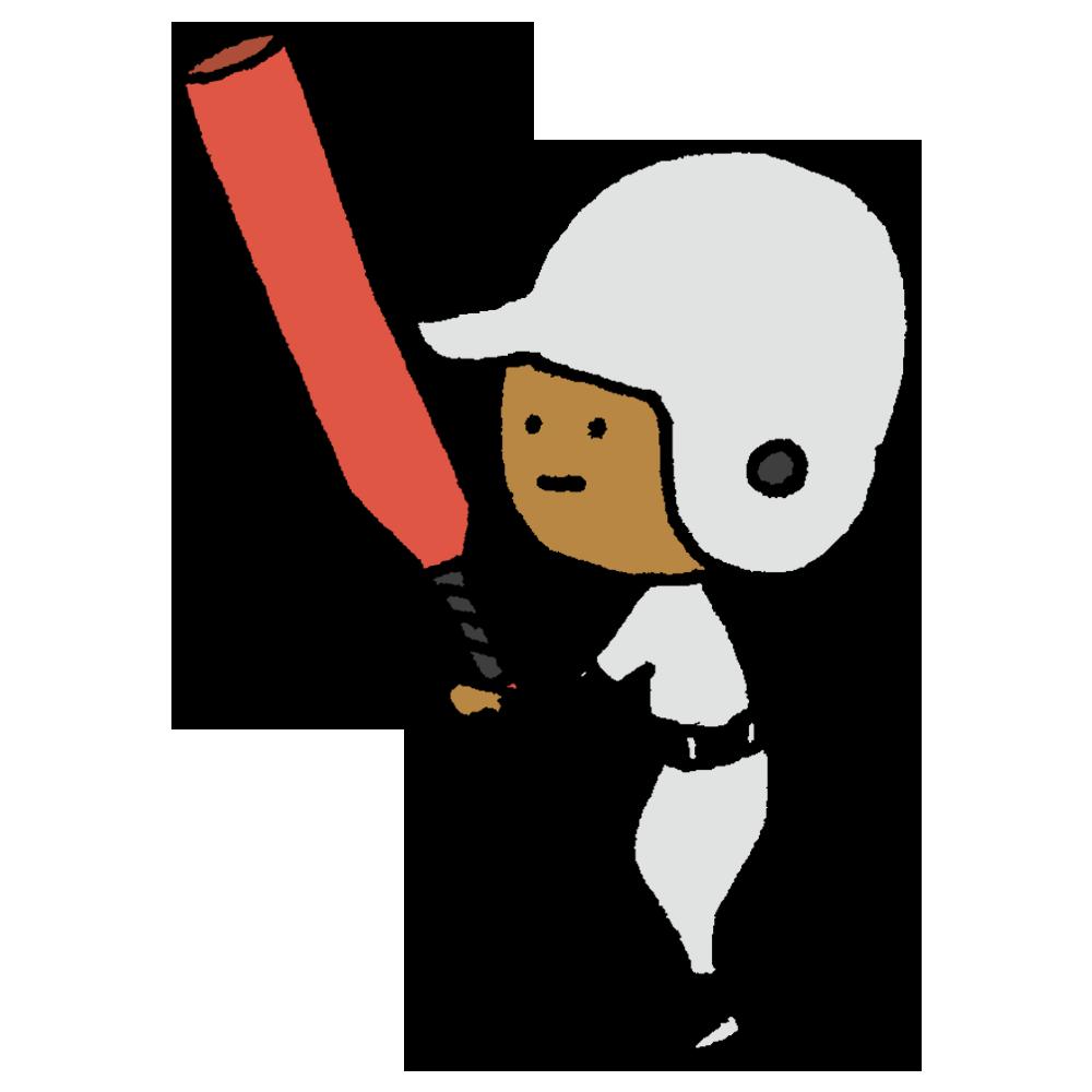 バット,男の子,人物,野球,野球部,ヘルメット,部活,バッター,手書き風,やきゅう,野球をする