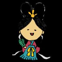 乙姫様のフリーイラスト