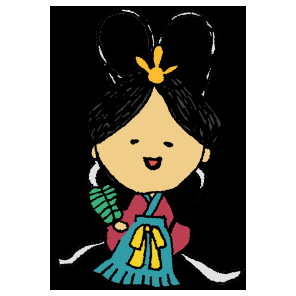 乙姫様,竜宮城,浦島太郎,着物,女性,美人,海,物語,人物,絵本,手書き風,昔話,物語,昔ばなし,綺麗,美しい,美女