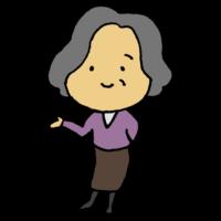 手書き風,女性,おばあちゃん,老人,婆,ご老人,年寄り,高齢者,老ける,老いる,年配,年配者,敬老,人物