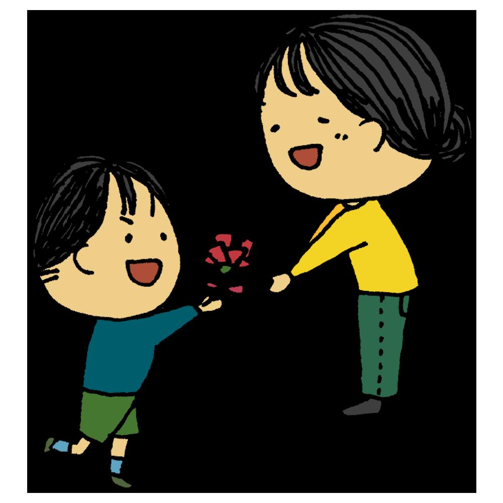 手書き風,お母さん,母,母の日,母親,母さん,ママ,男の子,子供,イベント,渡す,プレゼント,5月,第2日曜日,日曜日,感謝,お礼,ありがとう,大好き,いつもありがとう,ありがとうございます