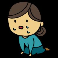 手書き風,人物,泣く,悲しい,辛い,切ない,絶望,しくしく,涙,泣いた,座る,ポロポロ,鬱,寂しい,落ち込む,泣き寝入り,座り込む,立てない