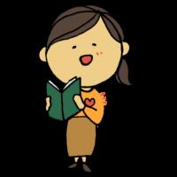 手書き風,人物,本,読む,心,あたたかい,温かい,暖かい,ほっ,読書,図書,書籍,BOOK,あたたまる,女性