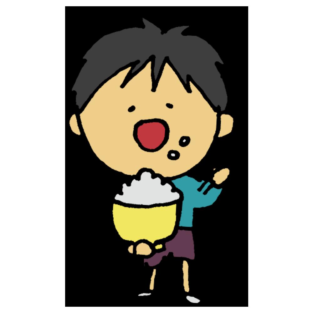 白米,米,お米,食べる,白飯,ご飯,飯,茶碗,食事,料理,食欲,栄養,男の子,人物,食べる,一杯,いっぱい食べる,美味しい