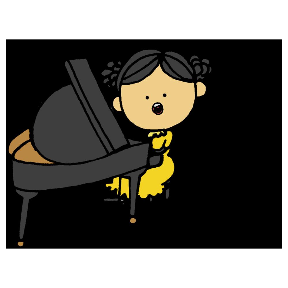 歌う,ピアノ,グランドピアノ,ピアニスト,女の子,発表会,ドレス,コンテスト,歌,うた,ウタ,ぴあの,音楽,クラシック,人物