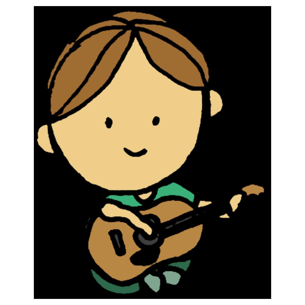 手書き風,人物,男性,アコースティックギター,ギター,音楽,楽器,アコギ,音楽家,練習,特訓