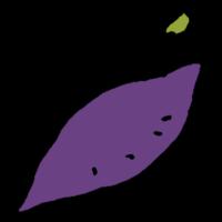 手書き風,野菜,芋,サツマイモ,芽,根,栄養,美味しい,秋,10月,11月,おなら,オナラ,さつまいも,薩摩芋