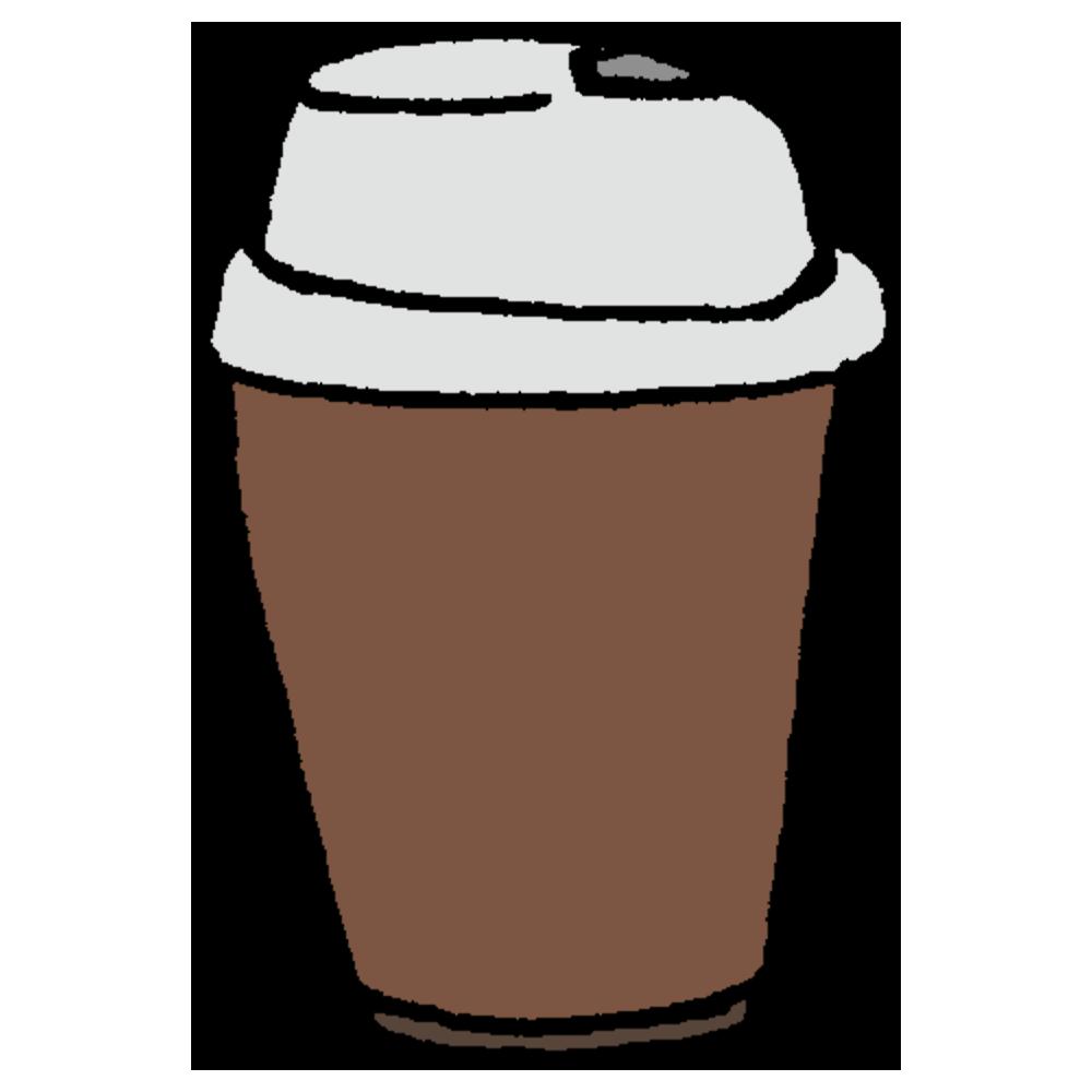 タンブラー,手書き風,珈琲,コーヒー,紅茶,温かい,冬,飲み物,液体,食器,たんぶらー,持ち運び,こぼれない,蓋,フタ