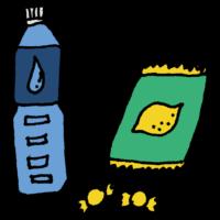 熱中症,飴,飲み物,水,熱中症対策,夏,暑い,危険,倒れる,塩分,水分,手書き風,レモン,7月,8月,病院,医療