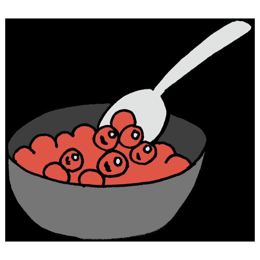 いくら,イクラ,魚卵,食べ物,食材,海の幸,魚介,醤油漬け,卵,魚の卵,バラ子,食器,スプーン,器,お椀