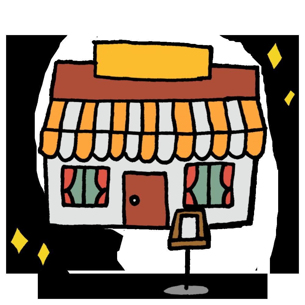 手書き風,建物,レストラン,建つ,レストラン,れすとらん,食べ物,お店,食事,外食,店,シェフ,お食事,ニューオープン