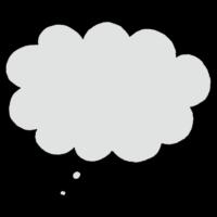 手書き風,記号,ふきだし,吹き出し,フキダシ,会話,話す,トーク,喋る,漫画,思う,考える,ふわふわ,嬉しい,心,脳内,内心,思っている,考えている