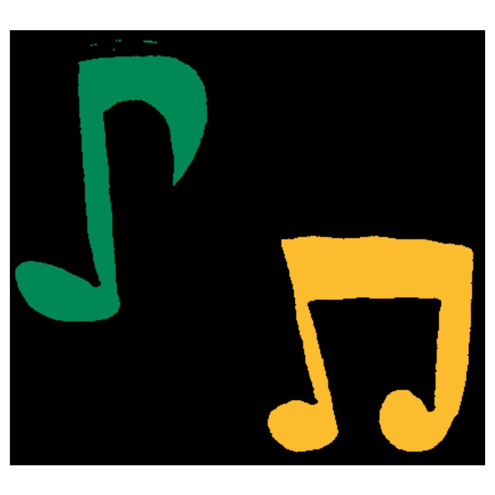 音符のフリーイラスト