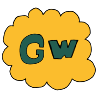 GWの文字のフリーイラスト