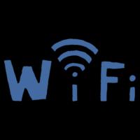 手書き風,Wi-Fi,WiFi,wifi,WIFI,インターネット,ネット,オンライン,電波,繋ぐ,文字,テキスト,見出し,届く,Wi-Fiスポット,ワイファイ,わいふぁい