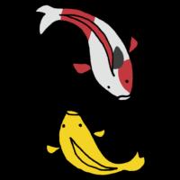 錦鯉のフリーイラスト