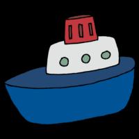 船のフリーイラスト
