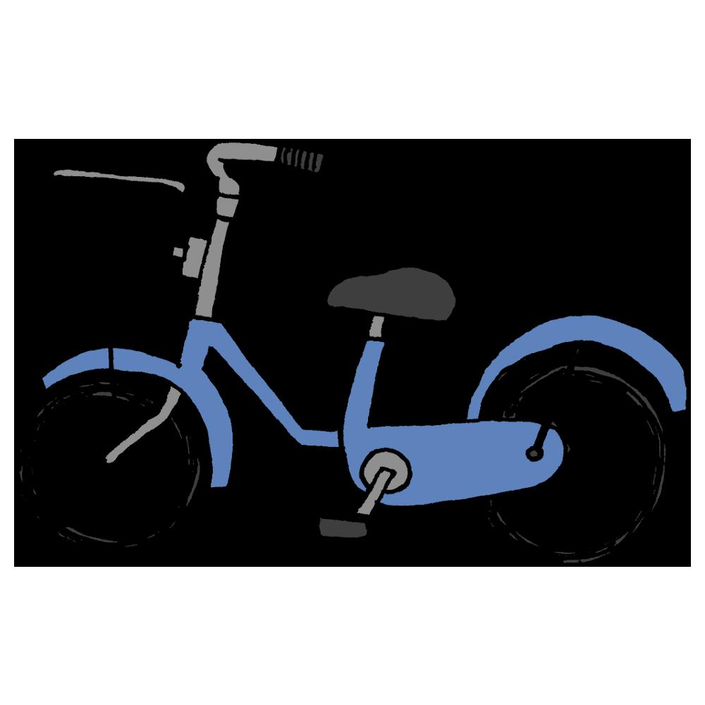 自転車のフリーイラスト