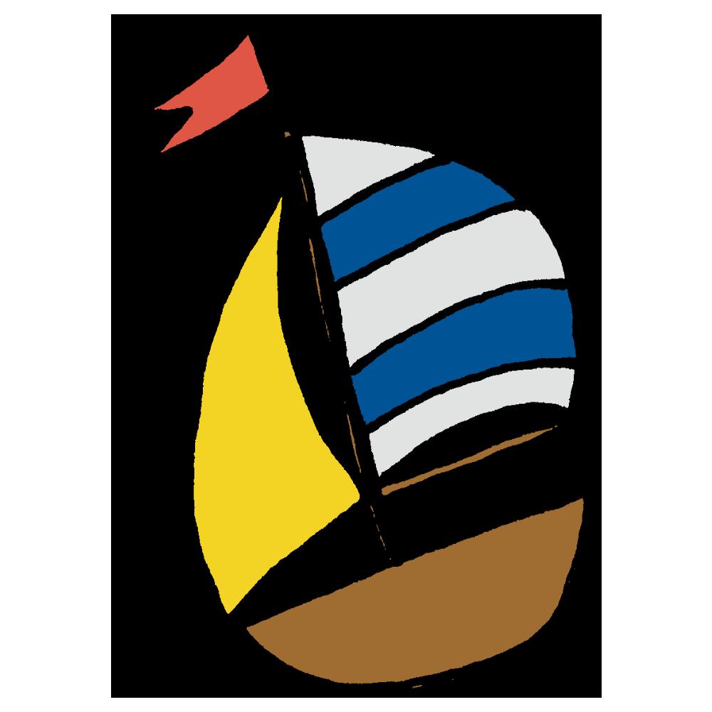 ヨットのフリーイラスト