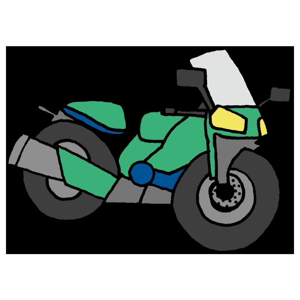 手書き風,乗り物,オートバイ,バイク,二輪車,オートバイク,自動二輪車,免許,乗る