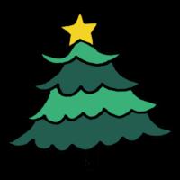 手書き風,Xmas,クリスマス,christmas,クリスマスツリー,植物,イベント,飾り,インテリア,お洒落,飾る,星,スター