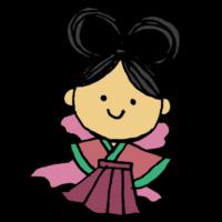 織姫様のフリーイラスト