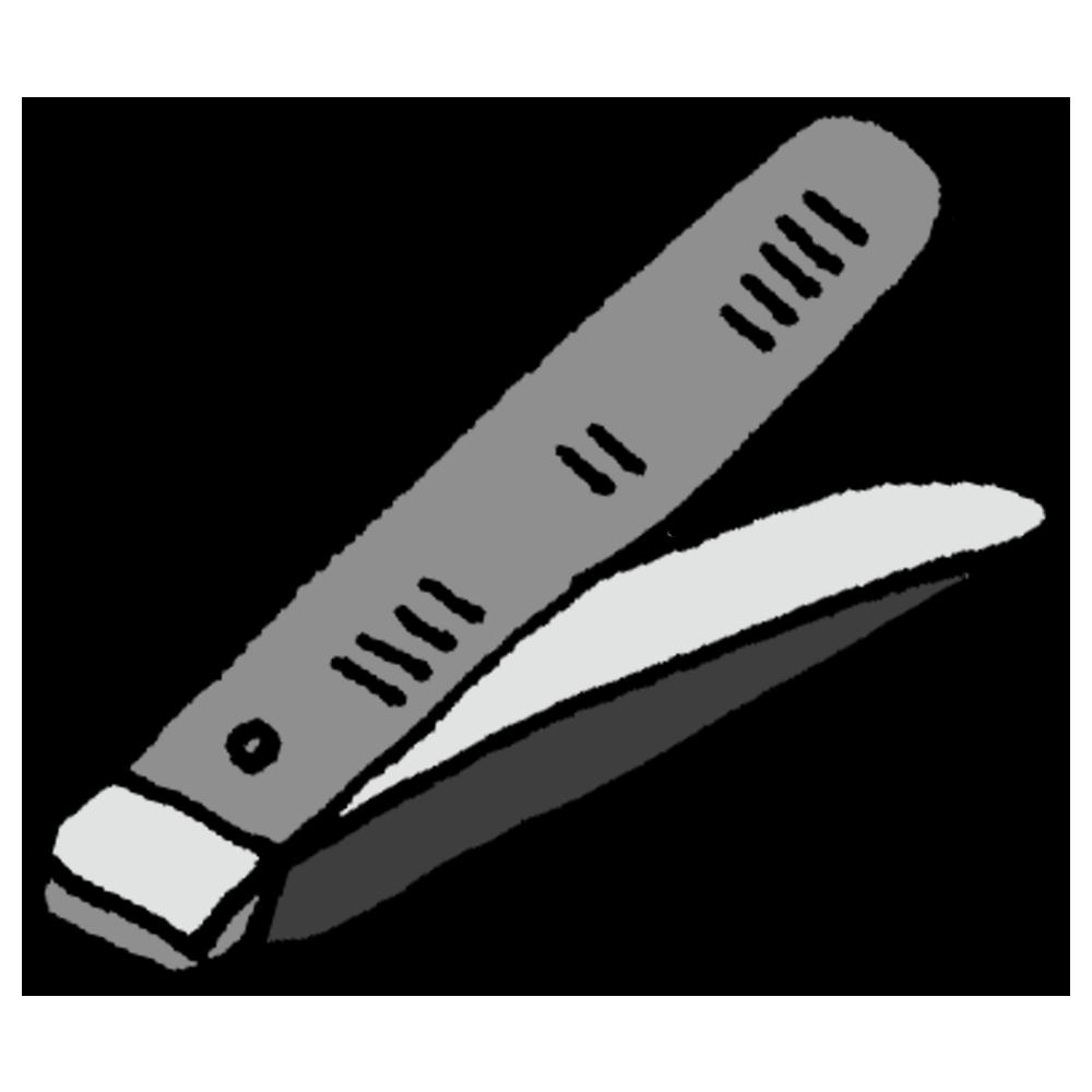 手書き風,日用雑貨,生活雑貨,生活用品,爪切り,爪,つめきり,身だしなみ,料理,整える,爪を切る,マニキュア,切る,使う,短い,伸びた