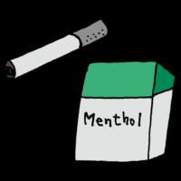 手書き風,タバコ,メンソール,スースー,煙草,たばこ,吸う,喫煙,禁煙,スモーカー,ヘビースモーカー,辞める,やめたい,煙,受動喫煙,煙い,煙たい
