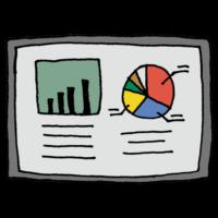 手書き風,グラフ,模造紙,ぐらふ,発表,プレゼン,成果,仕事,数量,時間変化,大小関係,割合,視覚的,統計図表,統計,統計学,説明,理解,勉強,学生,学校,データ,円グラフ,棒グラフ,額,文房具