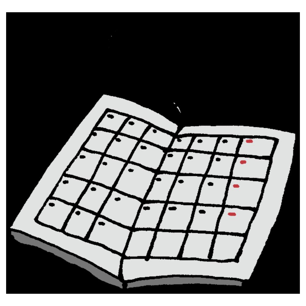手書き風,手帳,スケジュール帳,見開き,予定,スケジュール,カレンダー,今後,未来,日記,文房具,書く,紙