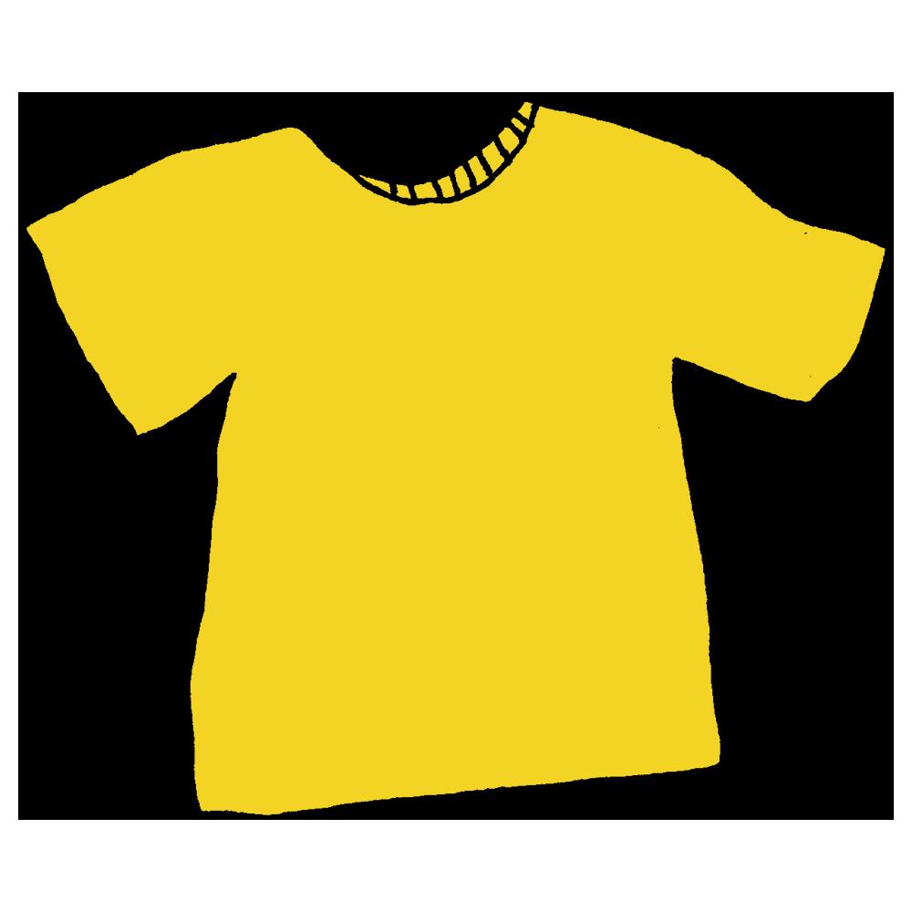 Tシャツのフリーイラスト