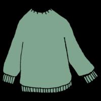 トレーナー,手書き風,服,ファッション,秋,冬,厚手,暖かい,楽,とれーなー,着る,洋服