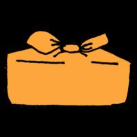 風呂敷に包まれたお弁当箱のフリーイラスト
