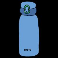 手書き風,水筒,冷水筒,マグボトル,マイボトル,水分,夏,熱中症対策,節約,持物,持ち物,持ち運び,コンパクト,お茶,水,飲む,保温,保冷,水分補給