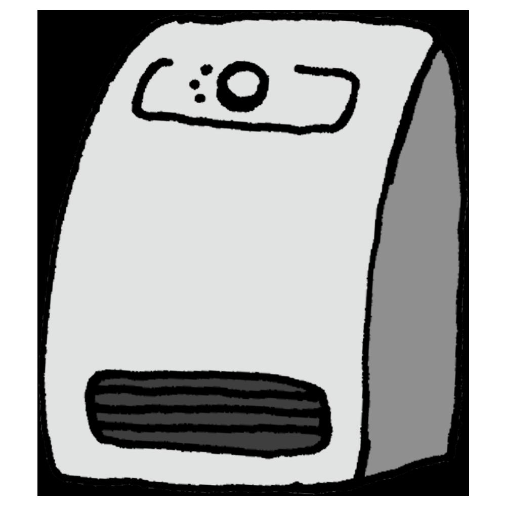 手書き風,電化製品,家電,セラミックヒーター,冬,寒い,凍える,温まる,12月,1月,2月,狭い,トイレ,お風呂場,温度差,暖房,暖房器具,あたたかい,寒い日