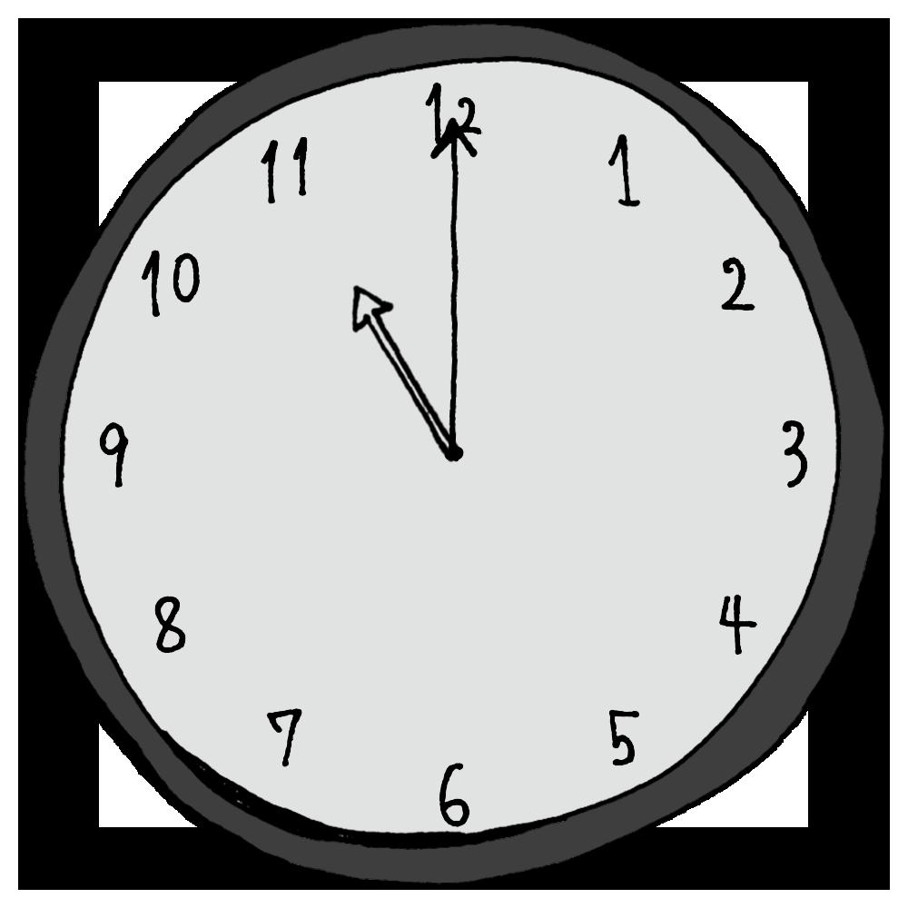 11時,23時,インテリア,手書き風,数字,時計,時間,時間の勉強,記号,針,電化製品