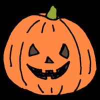 かぼちゃ,ジャックオランタン,ハロウィン,10月,おばけ,仮装,怖い,halloween,手書き風,ジャックオーランタン,Halloween,秋,行事,イベント