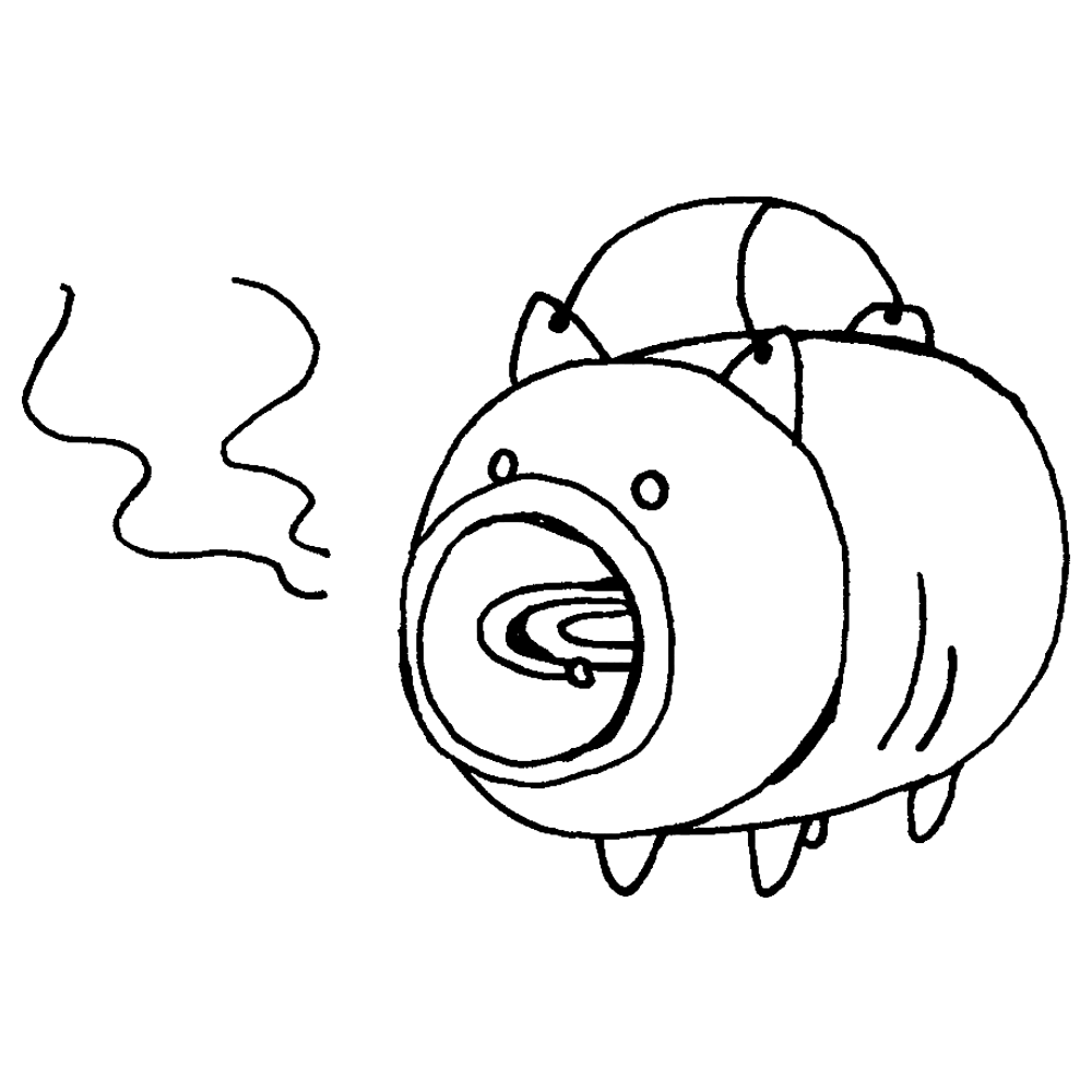 手書き風,インテリア,入れ物,ブタ,蚊取り線香,夏,7月,8月,9月,暑い,蚊,虫,ブーン,痒い,刺される,虫対策,対策,かとりせんこう,カトリセンコウ,蚊取り,線香,火,和