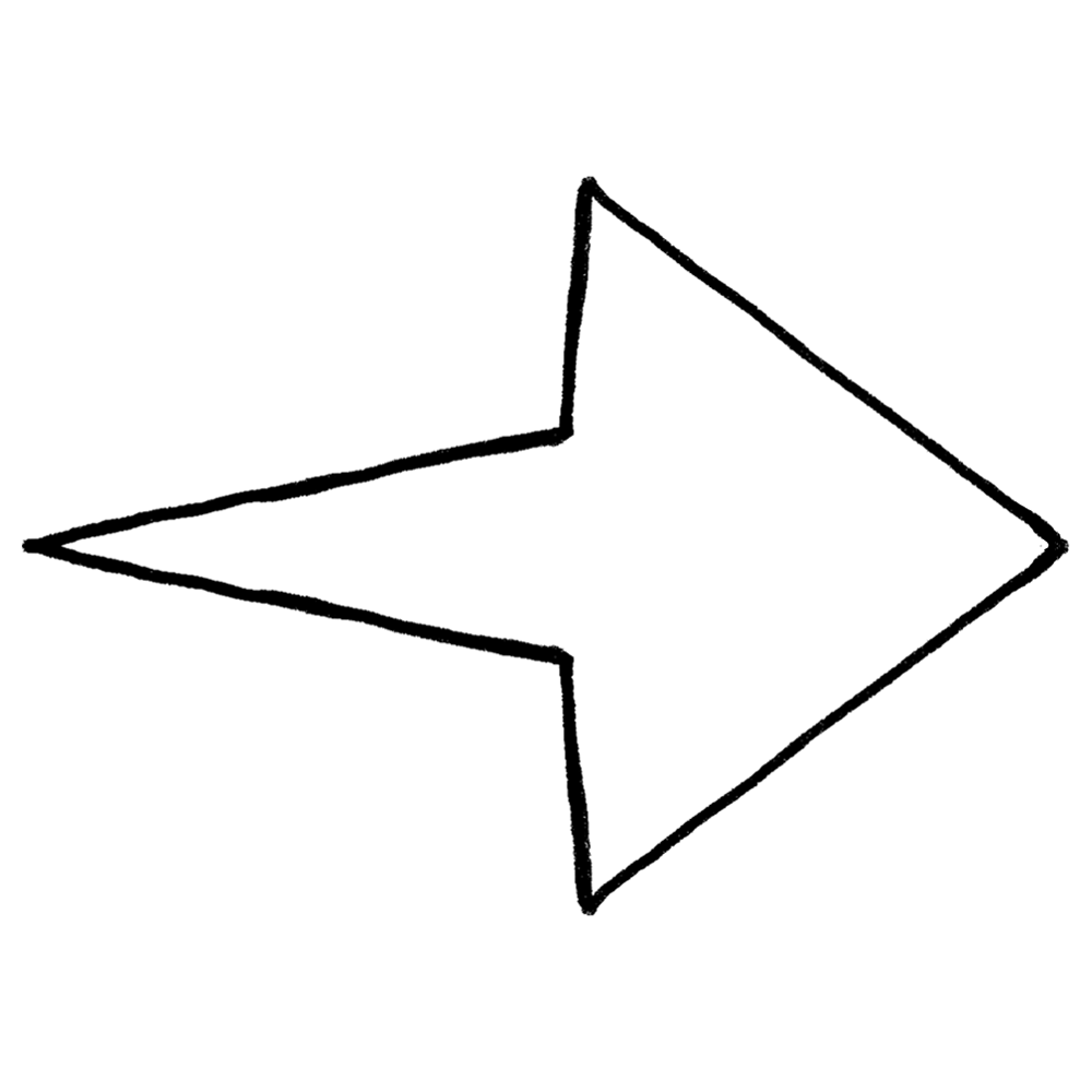 手書き風,記号,マーク,矢印,やじるし,ヤジルシ,末広がり,右,→,右向き,右方向