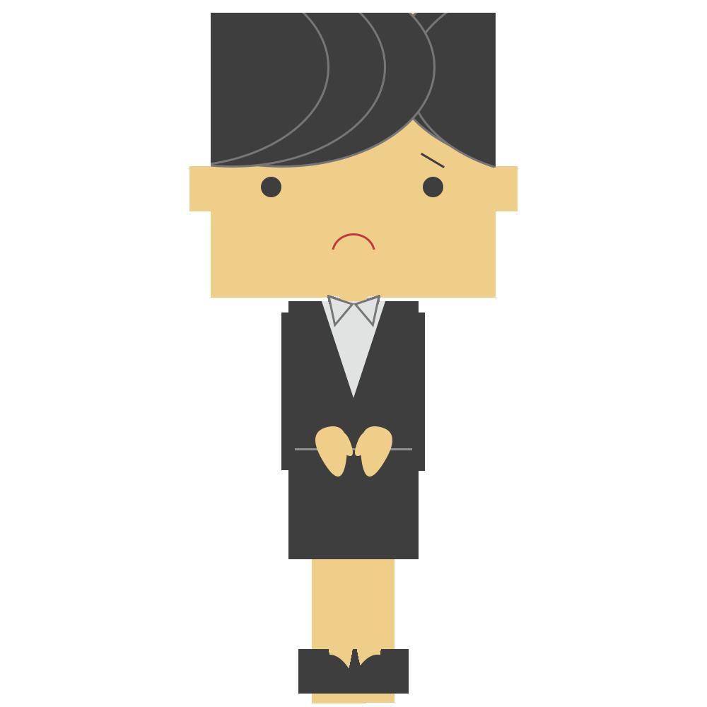 シンプル,人物,仕事,悲しむ,スーツ,女性
