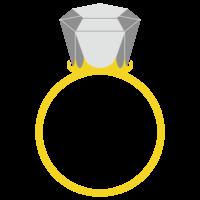 指輪のフリーイラスト