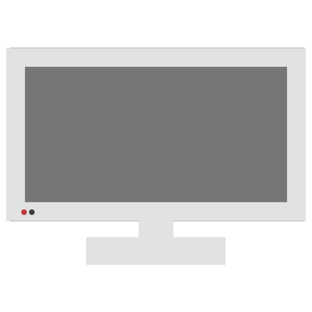 シンプル,物,電化製品,家電,モニター,テレビ