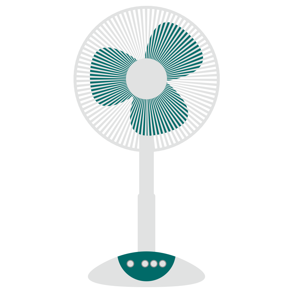 シンプル,物,家電,電化製品,扇風機,夏
