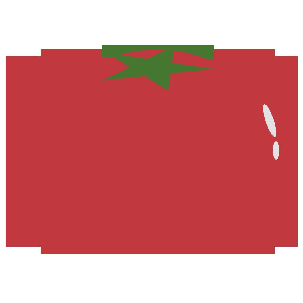トマトのフリーイラスト