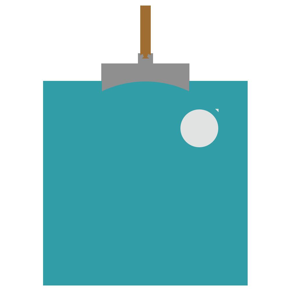 クリスマスのオーナメントのフリーイラスト
