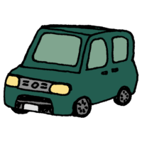 軽自動車のフリーイラスト