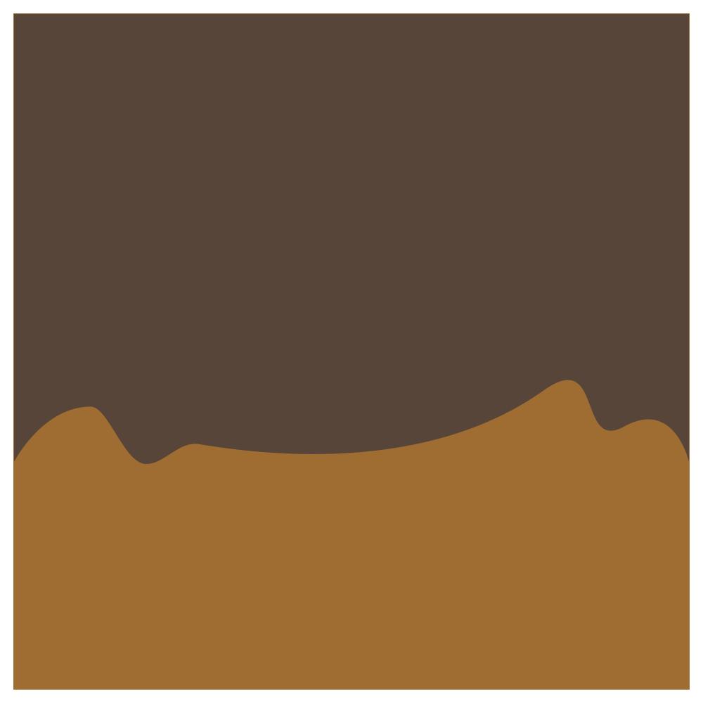 チョコレートのついたドーナツ