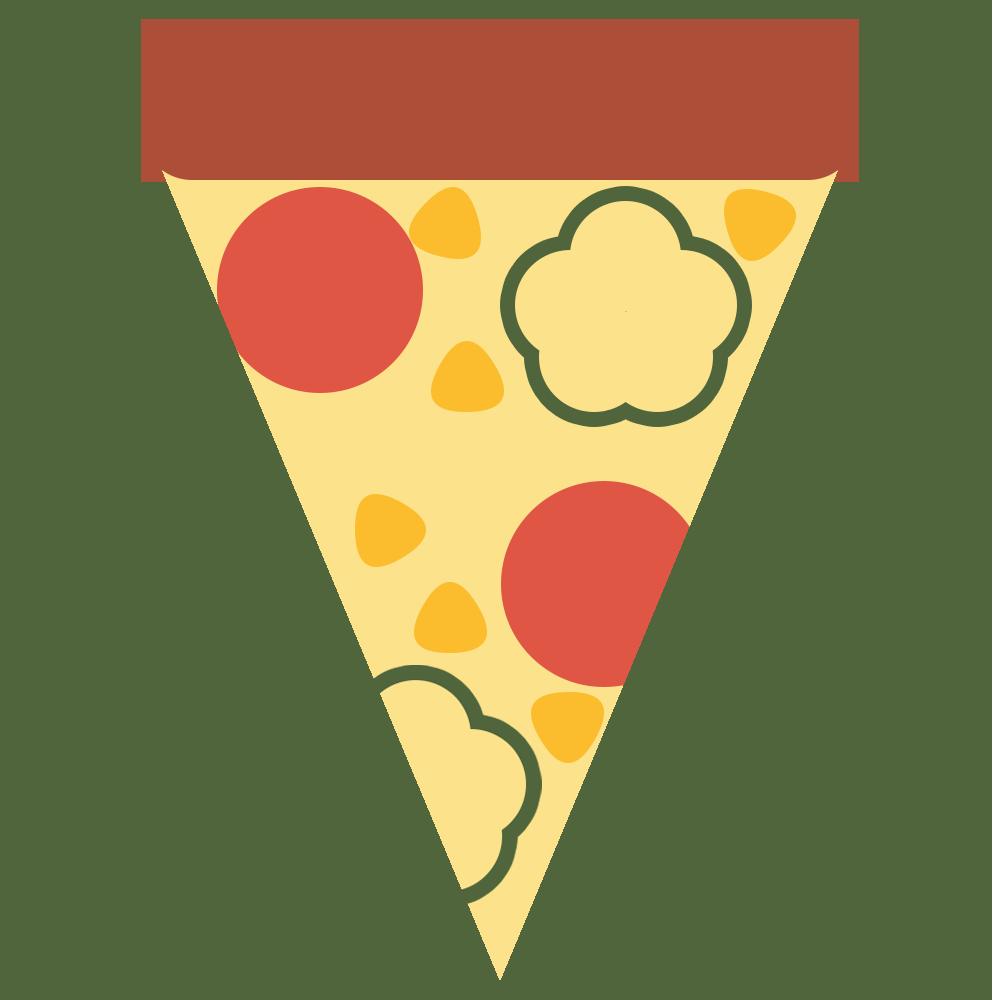 一切れのピザ