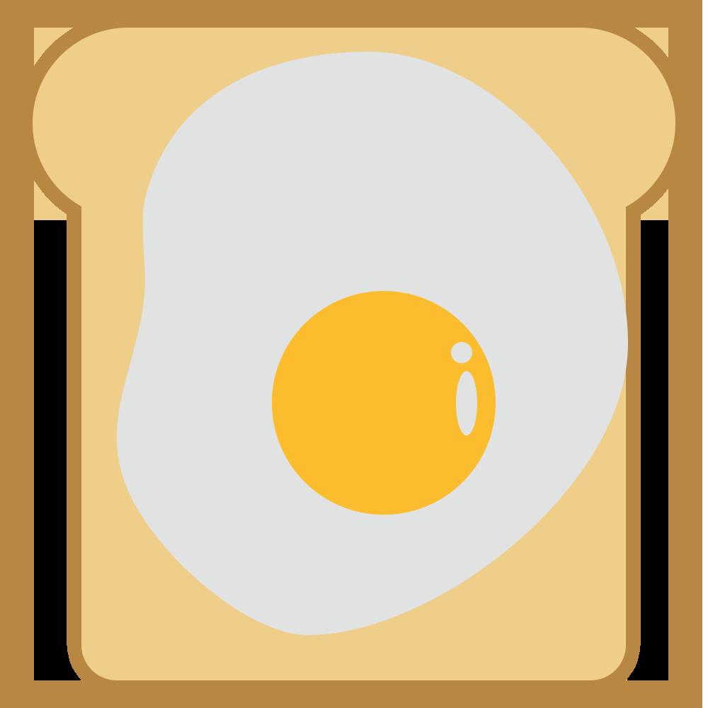 シンプル,食べ物,食パン,目玉焼き