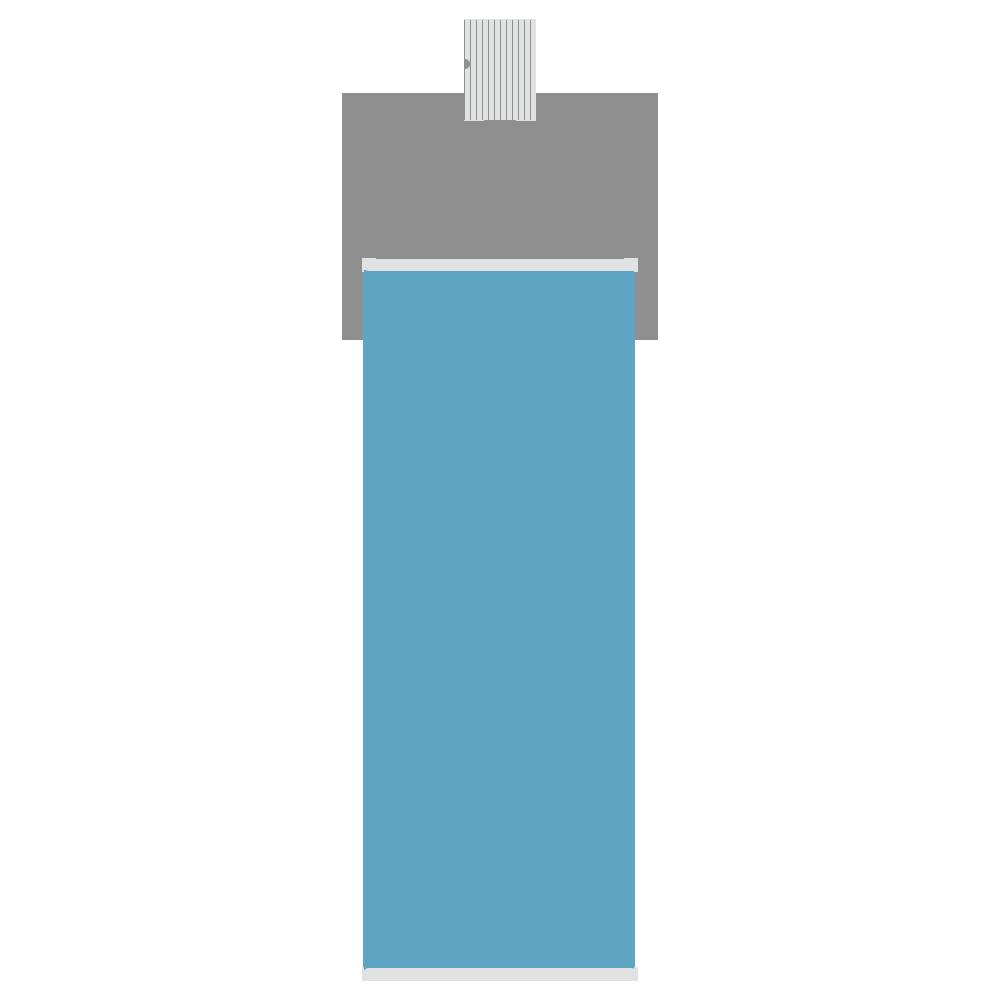 スプレー缶のフリーイラスト